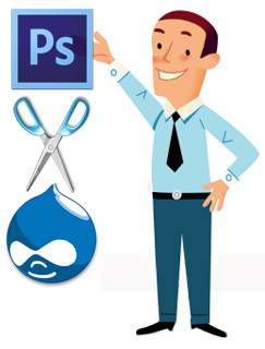 best website conversion of psd to drupal india